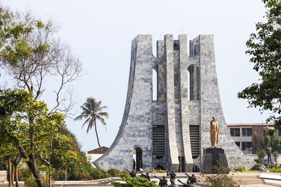 Tours to Ghana and Israel. Accra Ghana. Kwame Nkrumah Mausoleum.